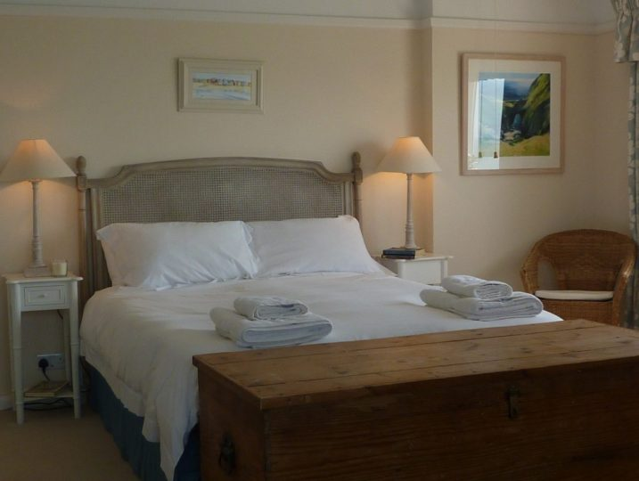 Luxury bedroom Rinsey Head in Cornwall