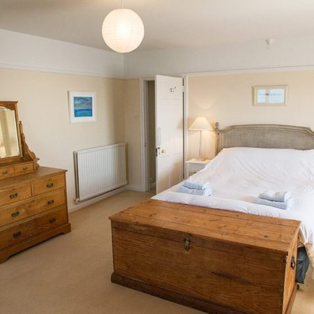 Master Bedroom Rinsey Head in Cornwall