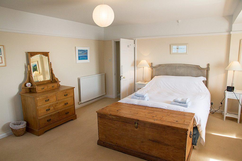 Master Bedroom Rinsey Head in Cornwall