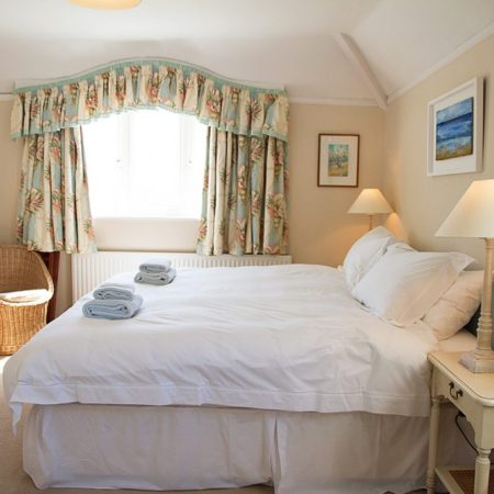 Main bedroom Rinsey Head in Cornwall
