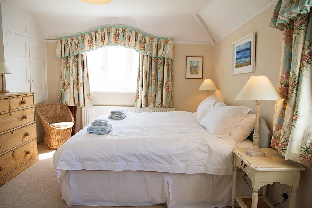 Main bedroom Rinsey Head in Cornwall