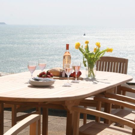 The best outside dining in Cornwall - Rinsey Head