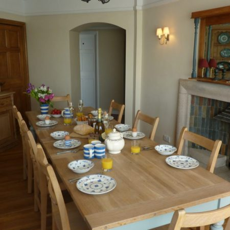 Kitchen Diner Rinsey Head in Cornwall