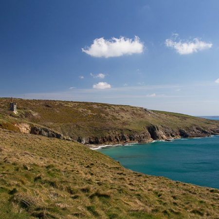 View from Rinsey Head self catering in Cornwall
