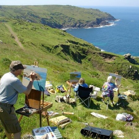 Painting Holidays and day courses in Cornwall