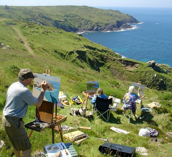 Painting Courses in Cornwall - Stylish Cornish Cottages