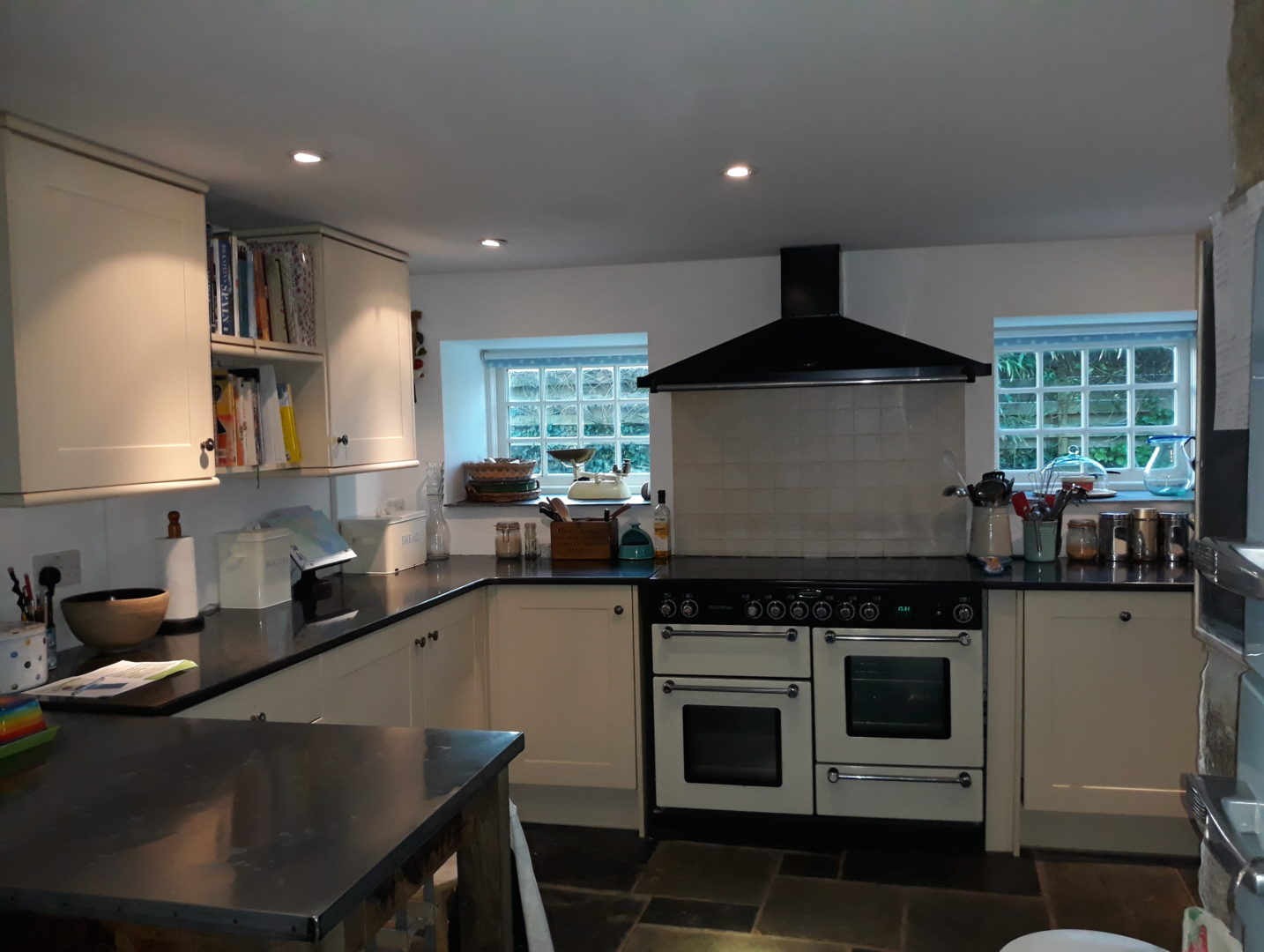 Cornwall cottage kitchen from Stylish Cornish Cottages
