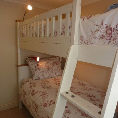 Bunk Beds Mousehole Cottage in Cornwall