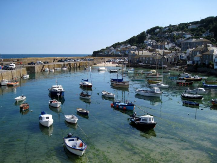 Mousehole Harbour from Stylish Cornish Cottages