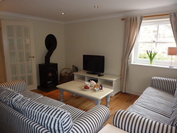 A relaxing lounge - Mousehole Cottage from Stylish Cornish Cottages