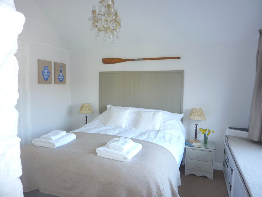 Porth Nanven Cottage Bedroom - from Stylish Cornish Cottages