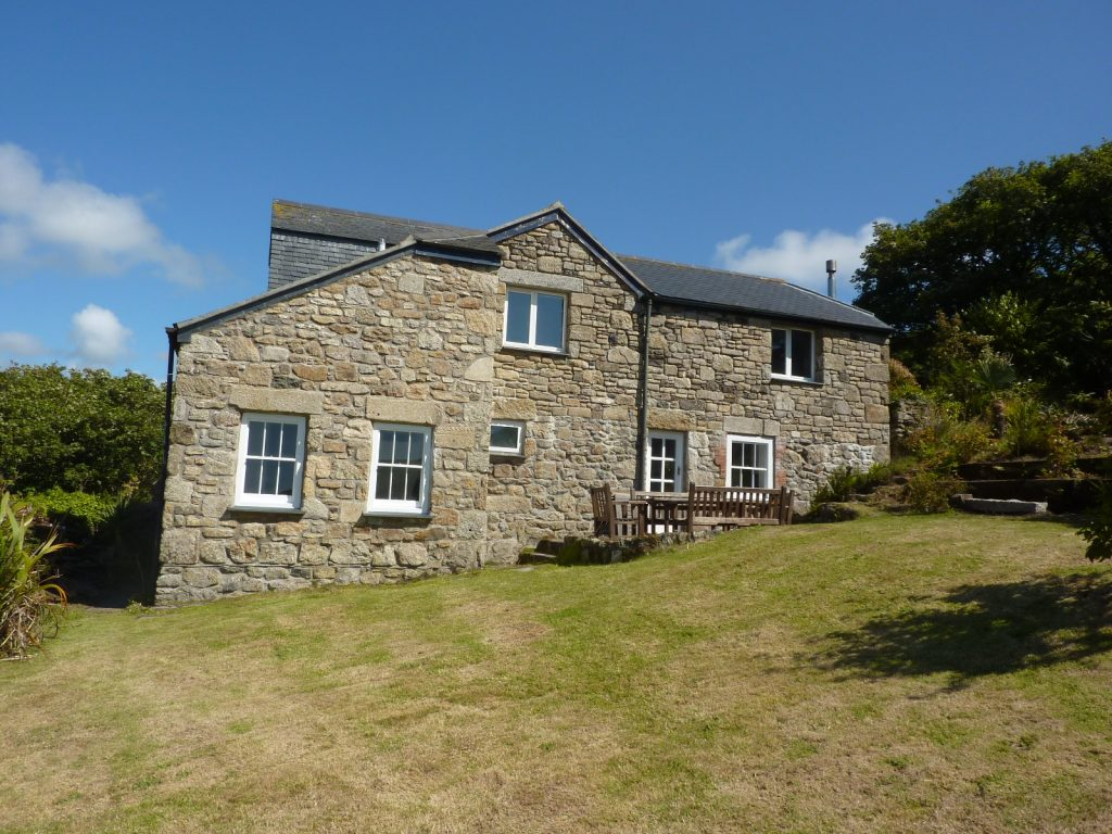 Porth Nanven House, Cot Valley Cornwall