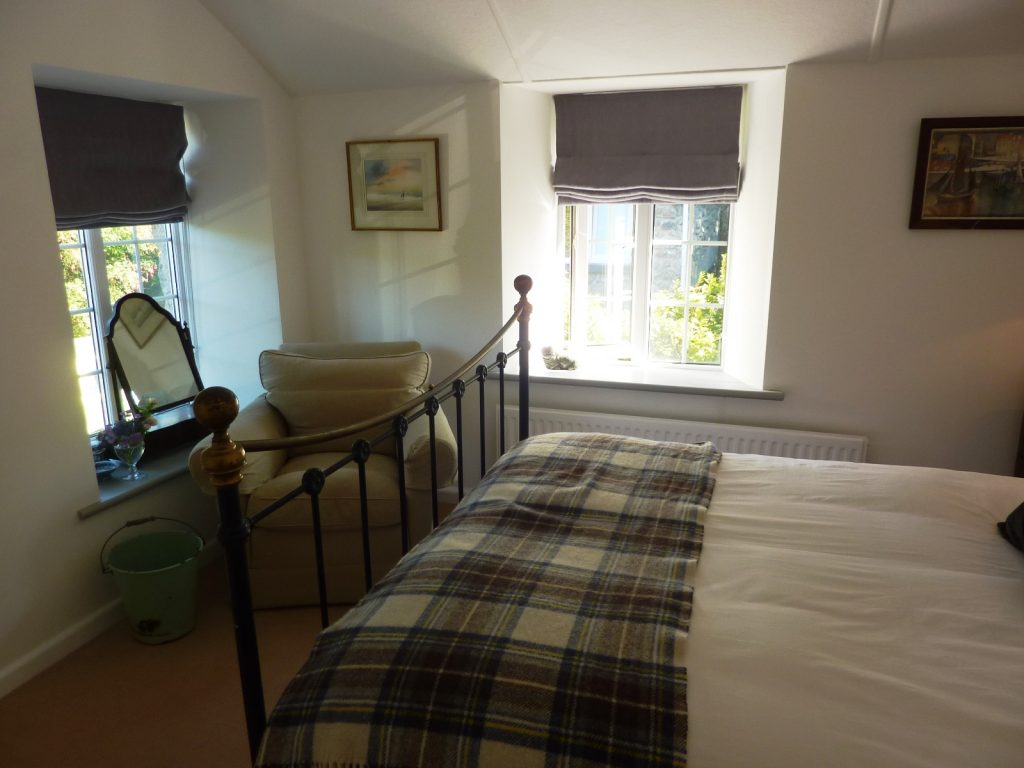 Porth Nanven Bedroom Views -from Stylish Cornish Cottages
