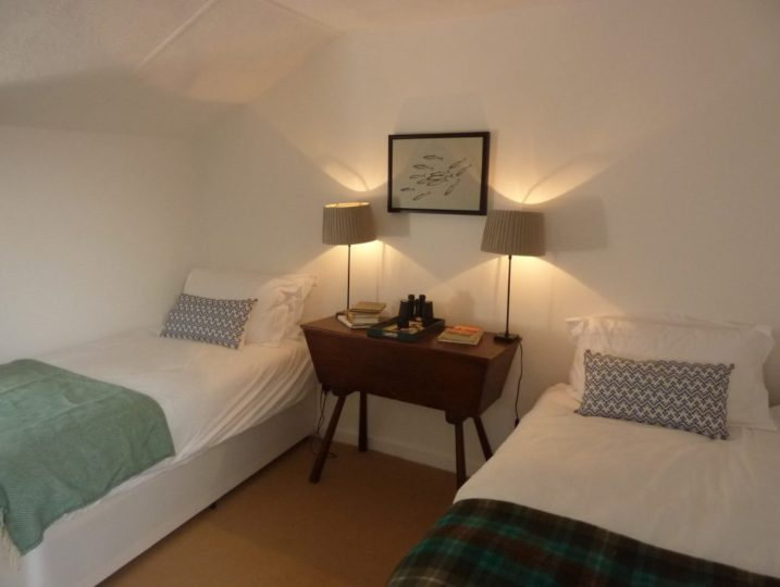Porth Nanven House - single beds from Stylish Cornish Cottages