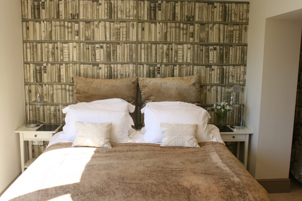 The bedroom The Summer House from Stylish Cornish Cottages