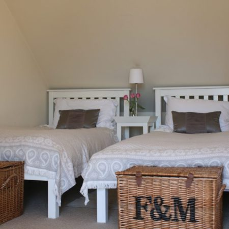 Bedrooms at The Summer House in Mousehole Cornwall