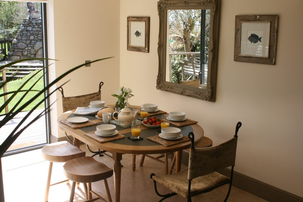 Dining Room The Summer House Self Catering Cornwall