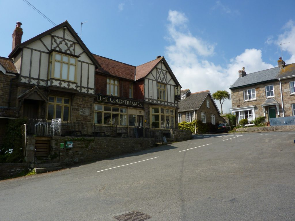 The Coldstreamer Pub and Restaurant in Gulval Cornwall