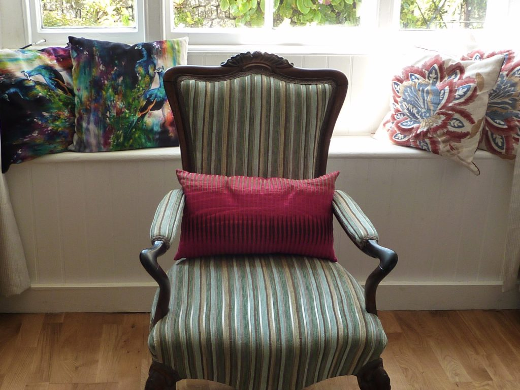 Chair in the window