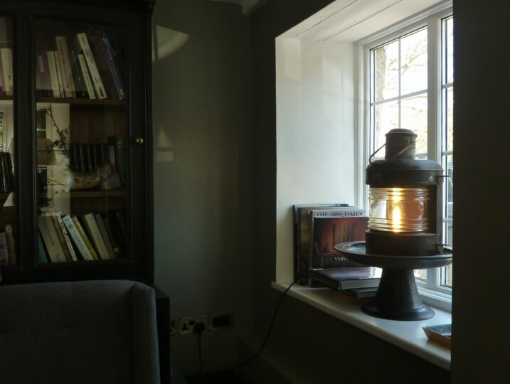 Winter Sitting Room Window