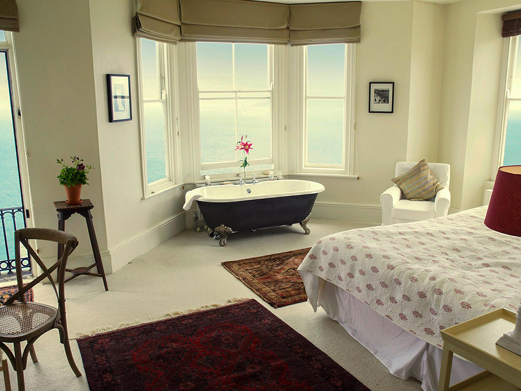 Luxury Cornwall Cottages - sea view