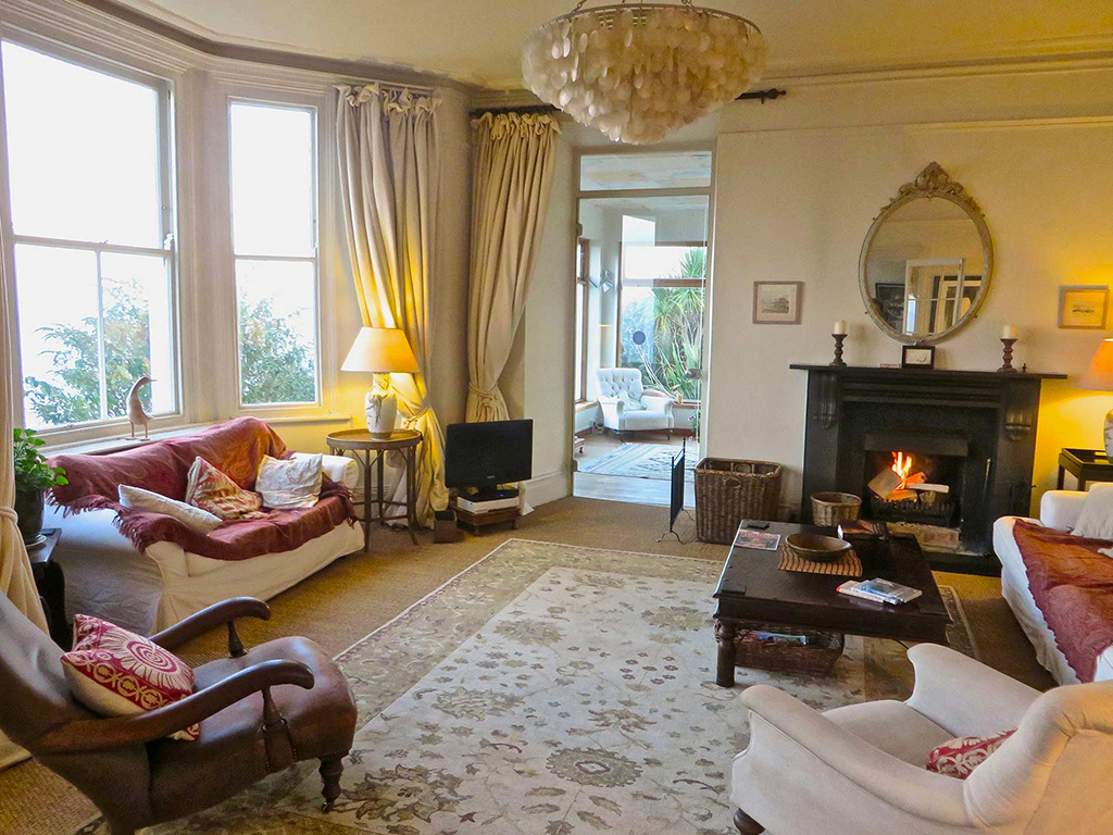 Open fire - self catering - Stylish Cornish Cottages