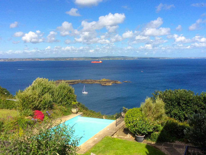 Cornwall Cottage swimming pool - from Stylish Cornish Cottages