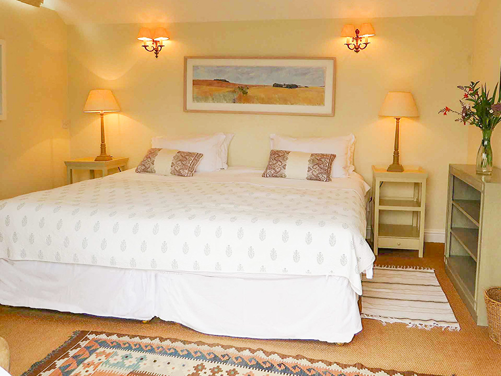 Mousehole Cottage bedroom 2 from Stylish Cornish Cottages