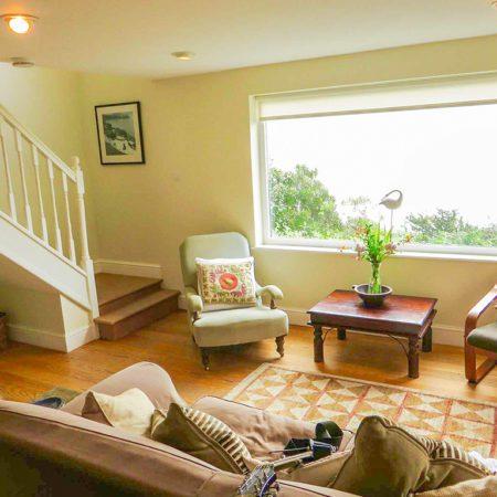 Mousehole Cottage sitting room from Stylish Cornish Cottages