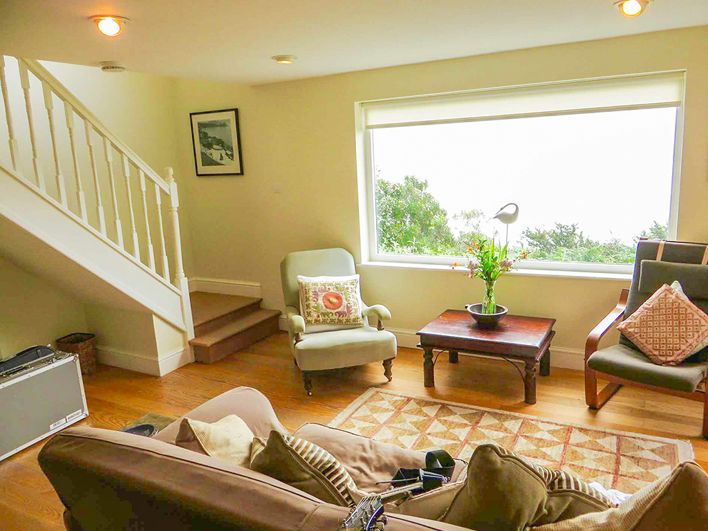 Carn Du sitting room from Stylish Cornish Cottages